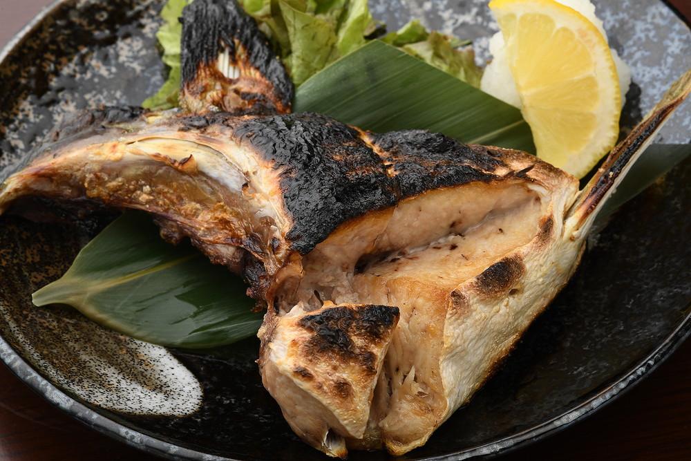 盐烤鰤鱼腮盖